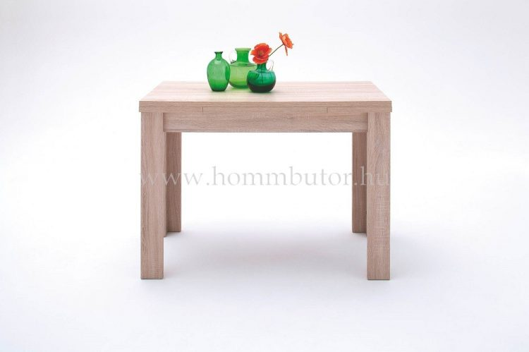 PLAY étkezőasztal 80x80 cm bővíthető San Remo tölgy színben