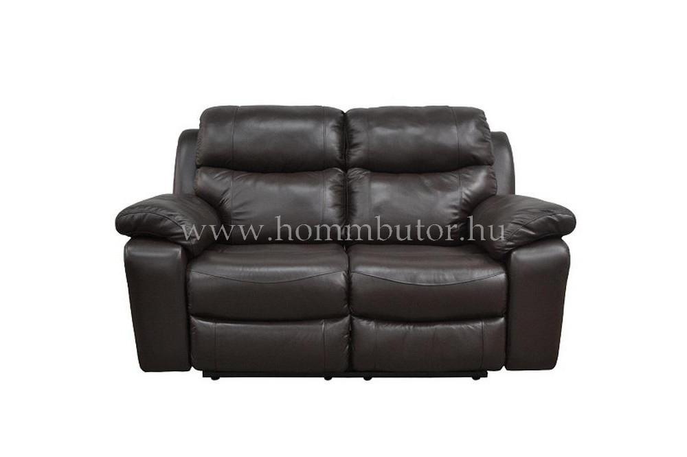 RAFAEL 2 üléses valódi bőr kanapé 170x100 cm