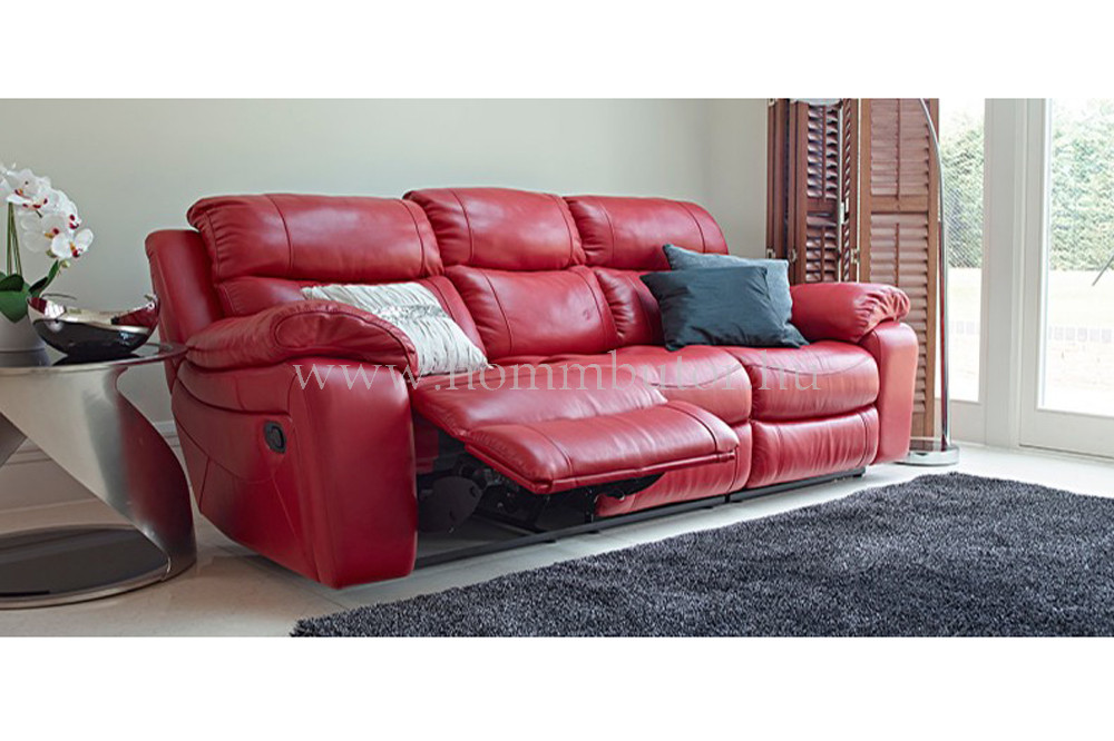 RAFAEL 3 üléses valódi bőr kanapé 230x100 cm