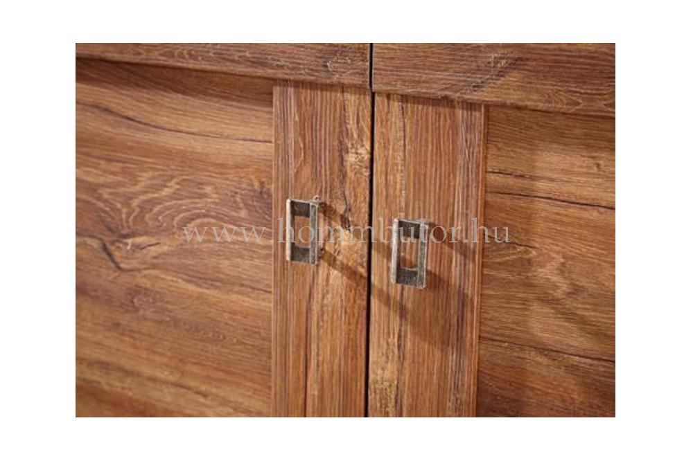 RASSEL komód 2 ajtós 4 fiókos 188x76 cm