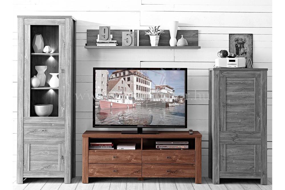 RASSEL TV-állvány 4 fiókos 156x59 cm