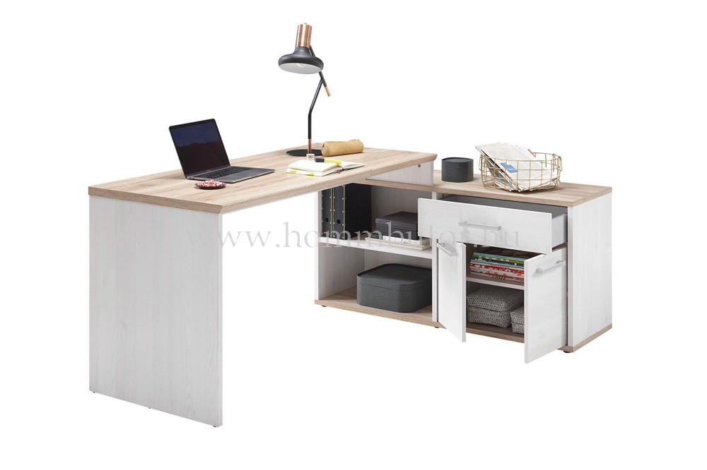 REBECCA L-alakú íróasztal 177x130 cm