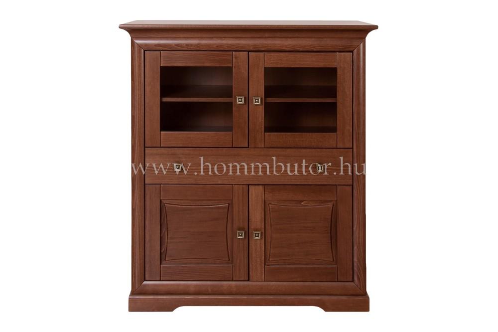 ROSSINI magas komód 4 ajtós 1 fiókos 115x130 cm