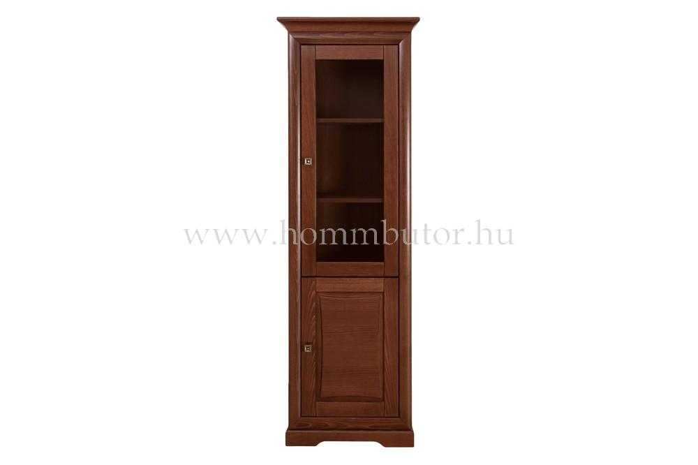 ROSSINI vitrin 1 üvegajtós 1 ajtós 68x205 cm