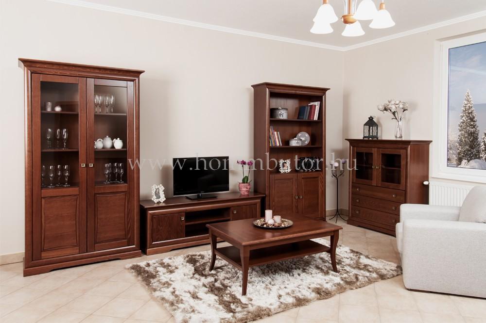 ROSSINI TV-állvány 2 ajtós polcos 158x55 cm