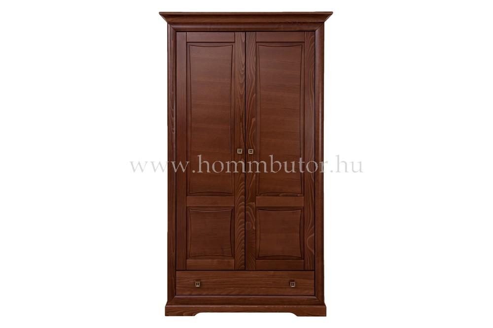 ROSSINI akasztós szekrény 2 ajtós 1 fiókos 115x205 cm