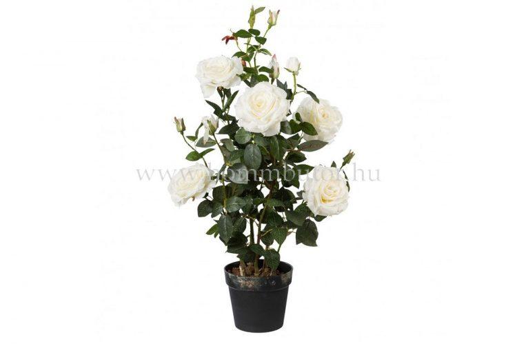 RÓZSA élethű növény dekoráció 90 cm magas