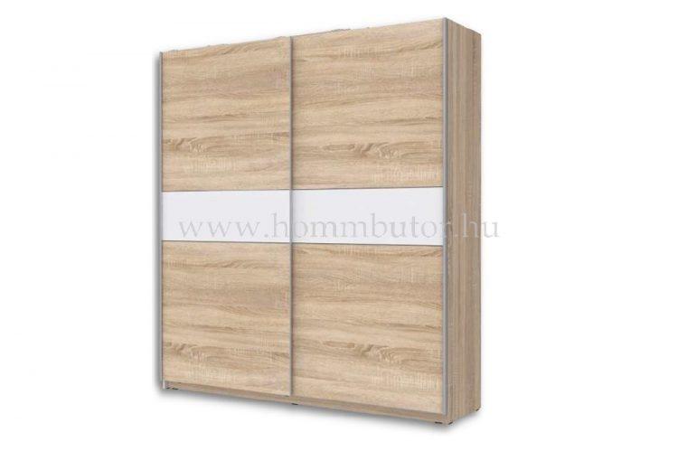 RUNNER PLUS tolóajtós gardróbszekrény 170x210 cm polcszettel