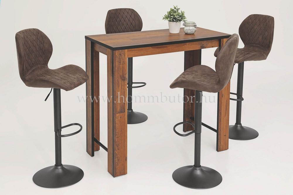 SABRINA bárasztal 120x58 cm