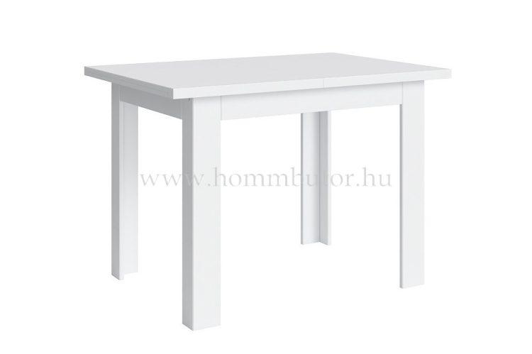 STO étkezőasztal 110x75 cm bővíthető fehér színben