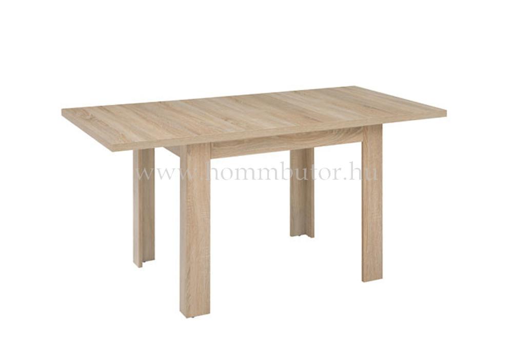 STO étkezőasztal 110x75 cm bővíthető világos sonoma tölgy színben
