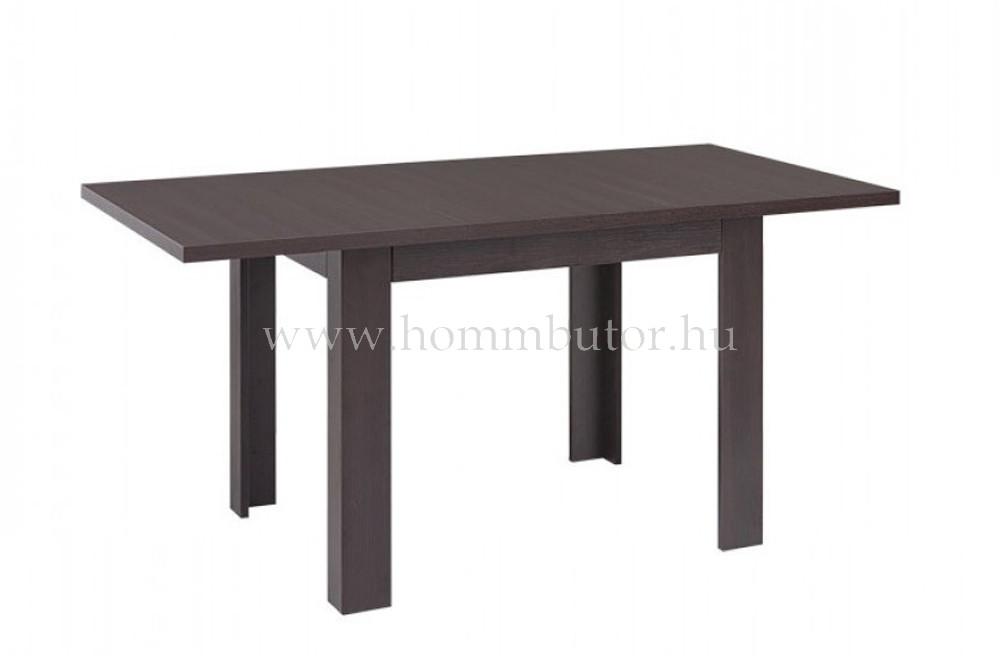 STO étkezőasztal 110x75 cm bővíthető wenge színben