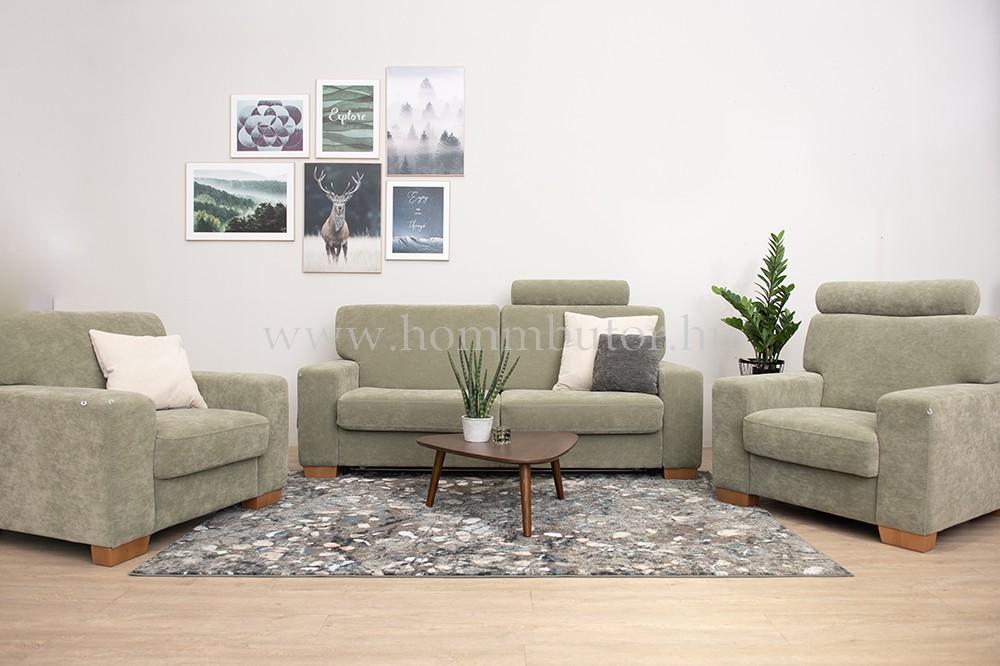 TARANTO 3 üléses bőr kanapé