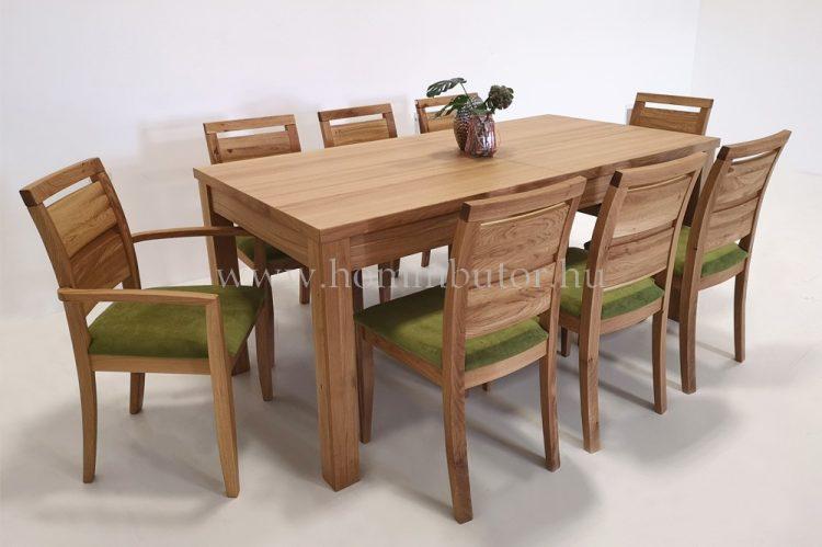TRINITY étkezőasztal 160x90 cm bővíthető rusztikus tölgy