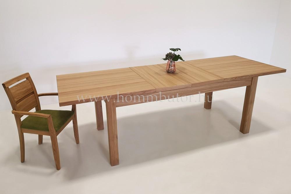 TRINITY étkezőasztal 140x90 cm bővíthető rusztikus tölgy