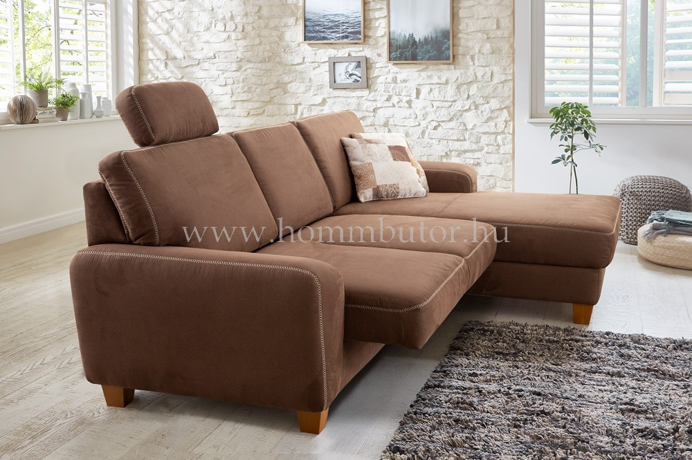VICENZA L-alakú ülőgarnitúra 256x166 cm