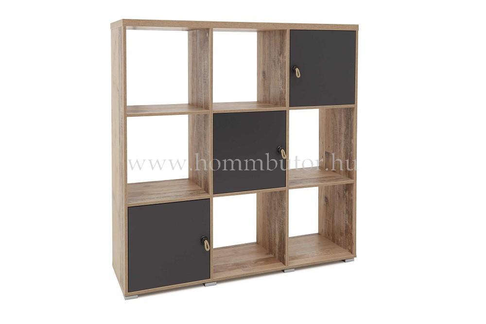 VIGO polcos/ajtós szekrény 123x126 cm