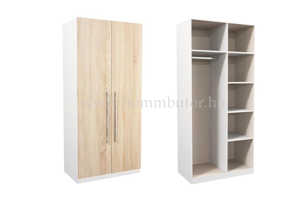 WEKTRA akasztós-polcos szekrény 100x219 cm