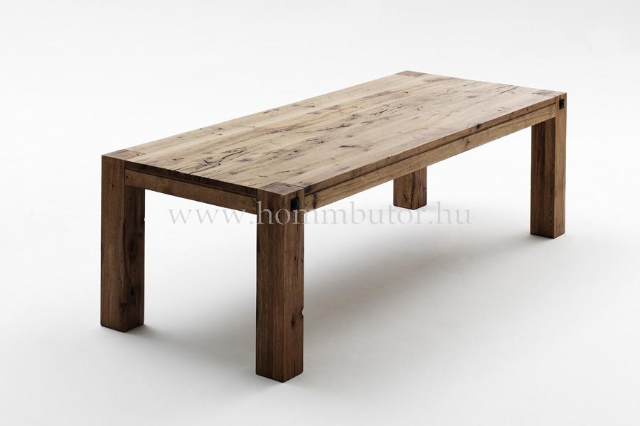 EDWARD tömör tölgy étkezőasztal 260x100 cm fix