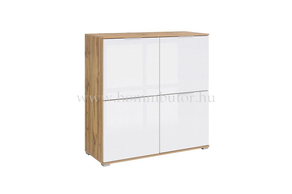 ZELE komód 4 ajtós 104x106 cm