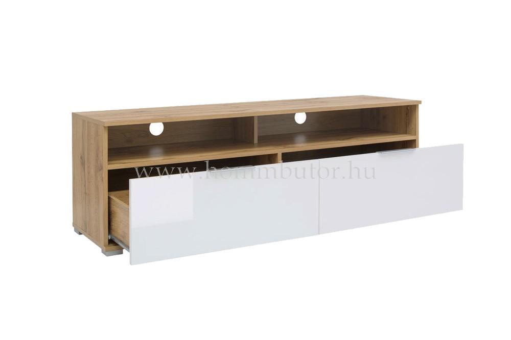 ZELE TV-szekrény 135x45 cm