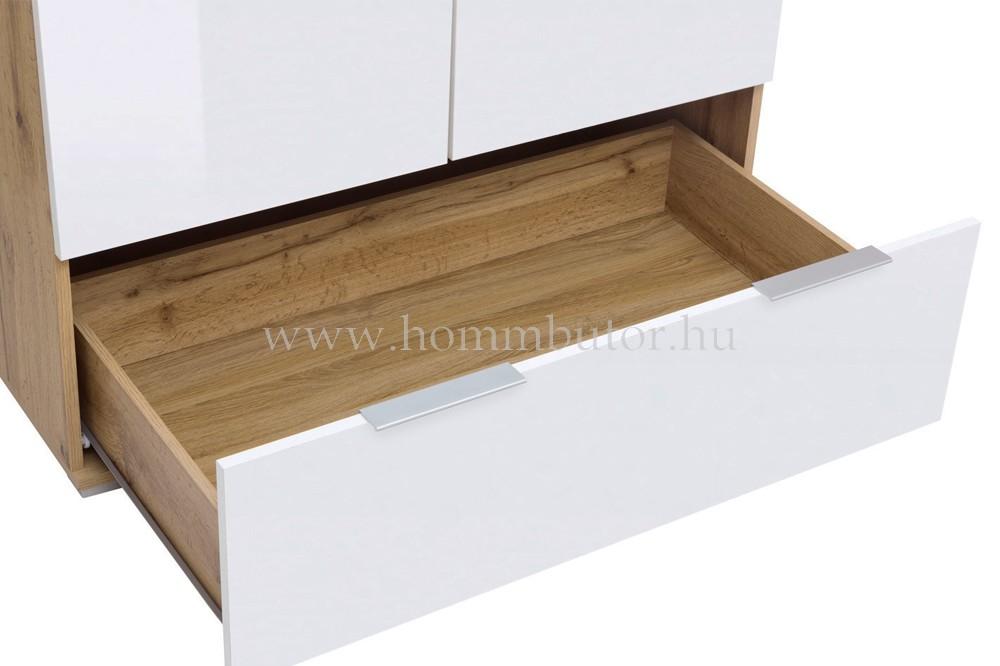 ZELE akasztós szekrény 90x195 cm
