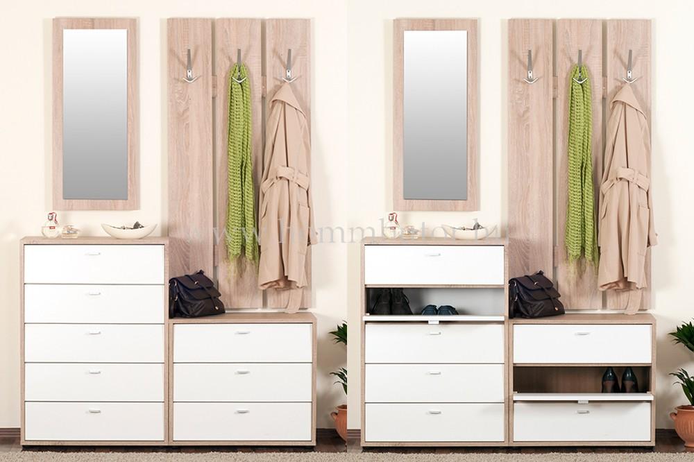 ZERO elemes előszoba bútorcsalád *pl. cipősszekrény*