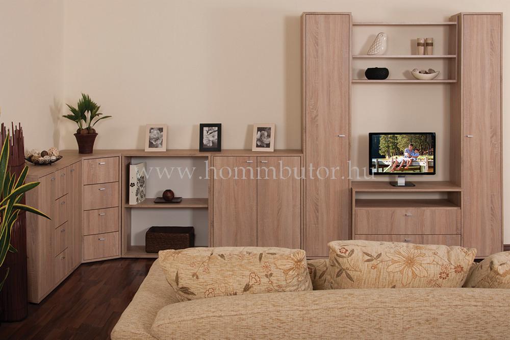 ZERO elemes nappali bútorcsalád *pl. TV-állvány*
