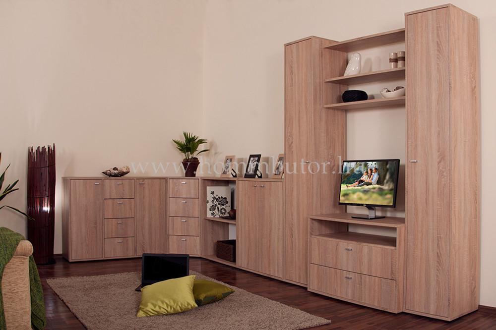ZERO komód 2 ajtós 4 fiókos 109x84 cm