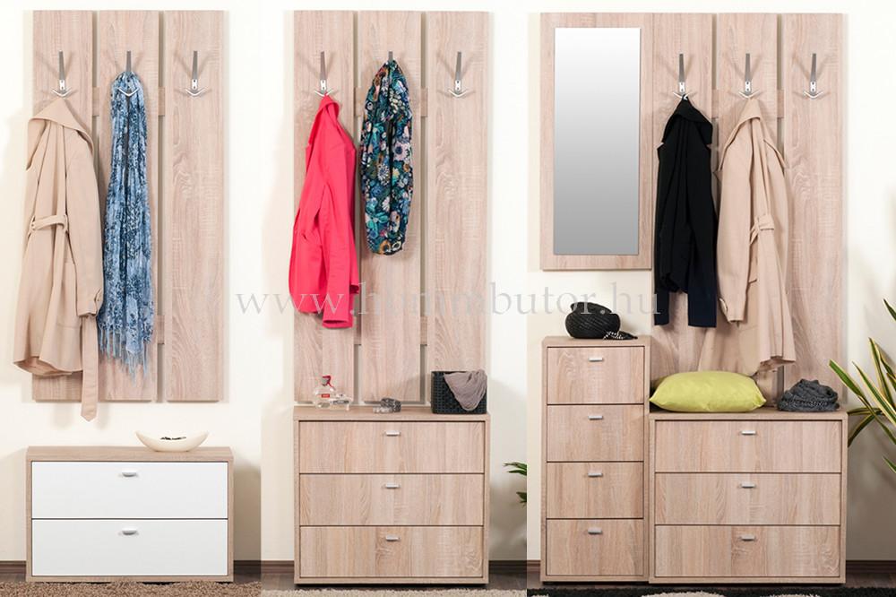 ZERO cipősszekrény 3 ajtós 68x59 cm