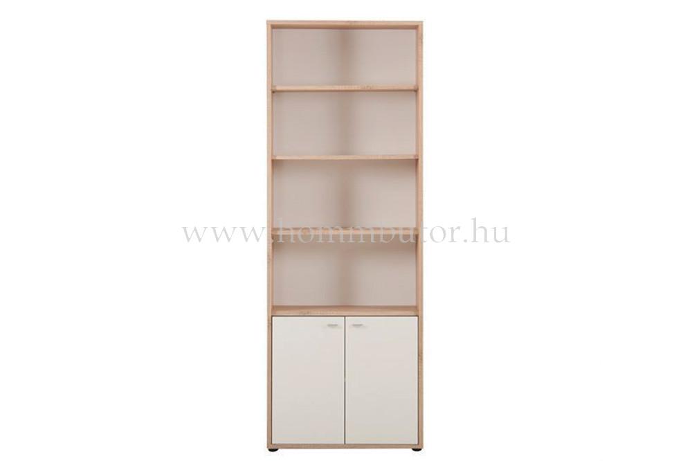 ZERO szekrény 2 ajtós 4 polcos 72x196 cm