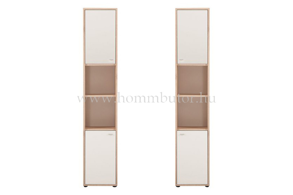 ZERO szekrény 4 ajtós 2 polcos 38x196 cm