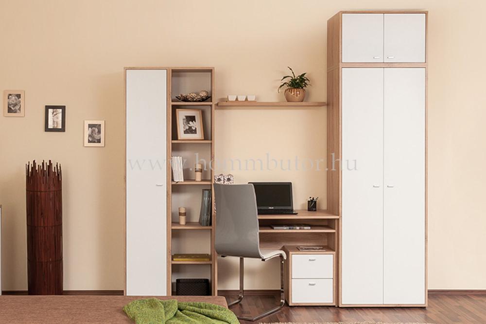 ZERO polcos szekrény 1 ajtós 38x196 cm