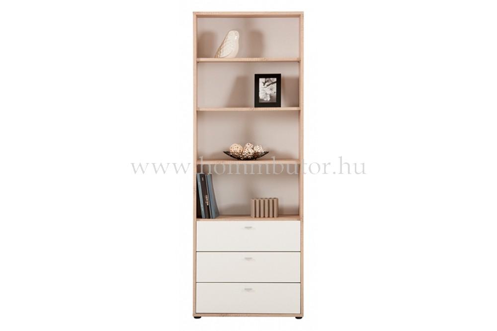 ZERO szekrény 3 fiókos 4 polcos 72x196 cm