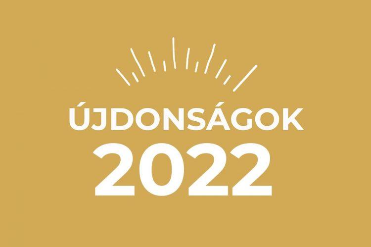Újdonságok 2020